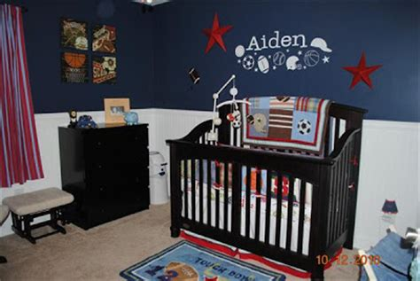 sports themed toddler room i pears sports theme nursery