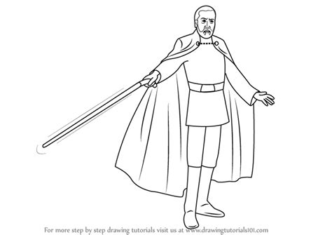 coloring pages count dooku learn how to draw count dooku from wars wars