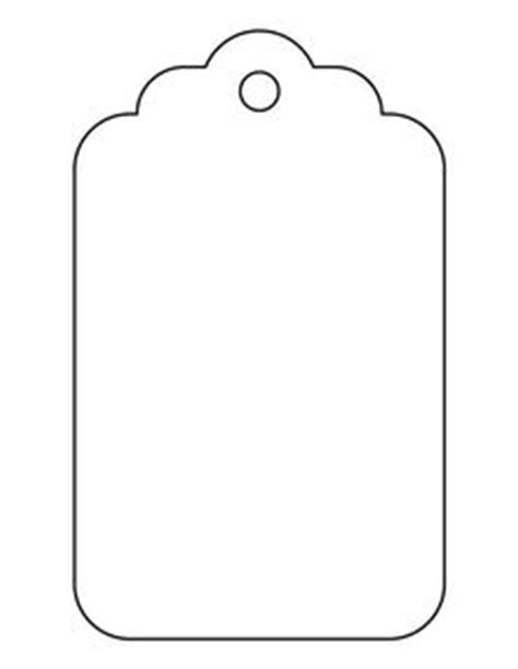 simple printable luggage tags free curvy tag svg cut file for silhouette eclips