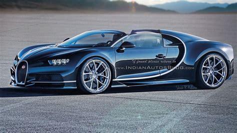 Bugatti Chiron Roadster by Bugatti Chiron Roadster Speculative Renders Photos