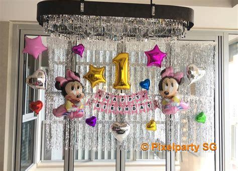 balloon decoration service pixel party sg