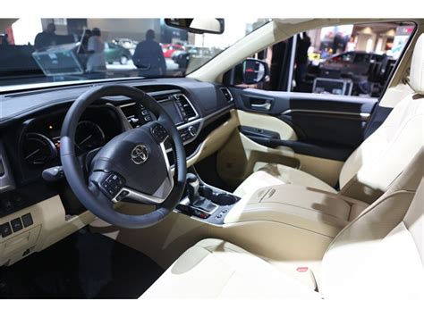 toyota highlander 2016 interior toyota highlander hybrid prices reviews and pictures u