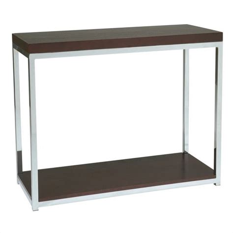 wall accent tables foyer table in espresso wst07