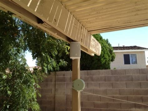 backyard sound system how to install an outdoor patio sound system for less than 100 bucks