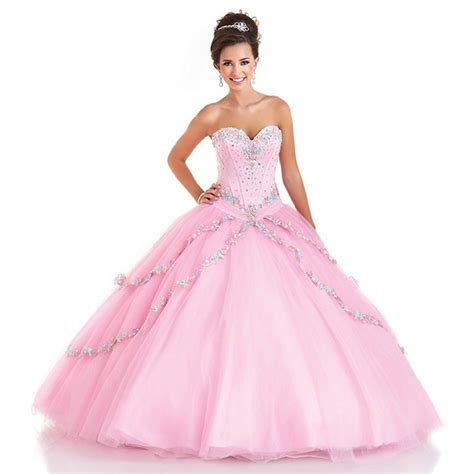 Dress Sabri Prilly Pink Lz sale beaded top pink quinceanera dresses vestido de 15 anos gown sweet 16 dresses