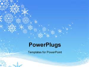 winter templates best photos of snowflake powerpoint template free