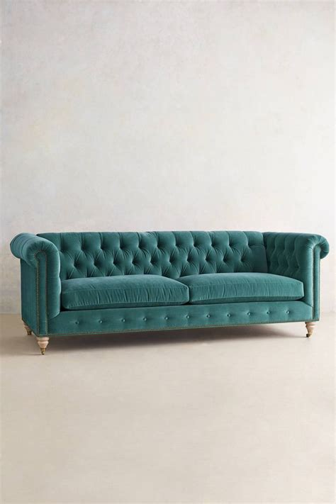 Teal Chesterfield Sofa Velvet Lyre Chesterfield Sofa Wilcox Teal Blue Offices And Velvet
