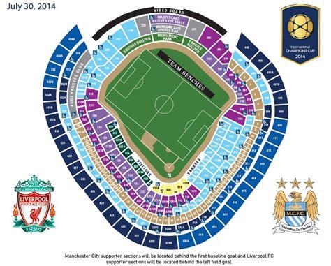 yankee stadium map buy tickets now to lfc at yankee stadium liverpool fc