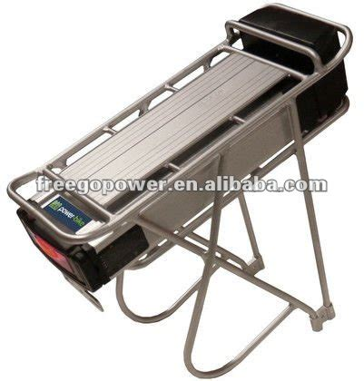 Chion Power Equipment Bike Rack by Electric Bike Battery Rack Easy Install Remove View