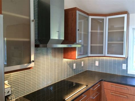 frosted glass doors for kitchen cabinets railing stairs