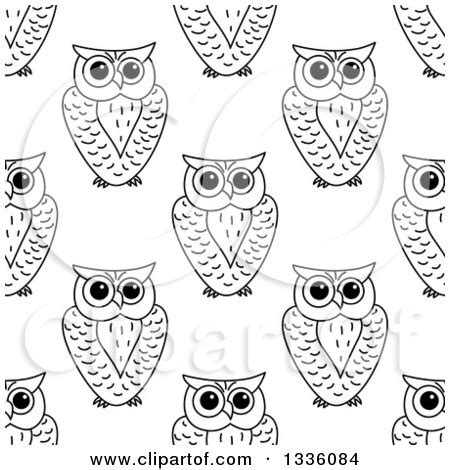 black and white owl pattern royalty free stock illustrations of owls by vector