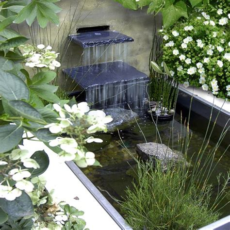 Small Water Garden Ideas 75 Relaxing Garden And Backyard Waterfalls Digsdigs
