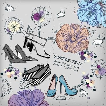 Sepatu Kanvas Floral 1 shoes free vector 480 free vector for