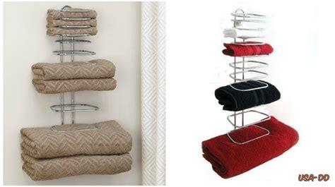 bathroom towel organizer guest towel holder rack bathroom bath storage wall mount