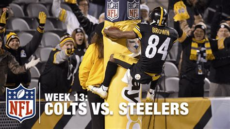 Antonio Brown Meme - antonio brown doesn t ride the bench he rides the goal post colts vs steelers nfl youtube