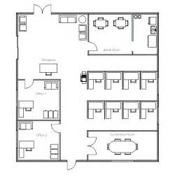 floor plan of office ezblueprint com