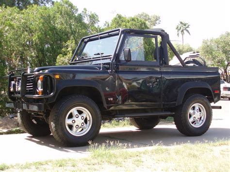 land rover defender 90 convertible 1995 land rover defender 90 2 door convertible 49439