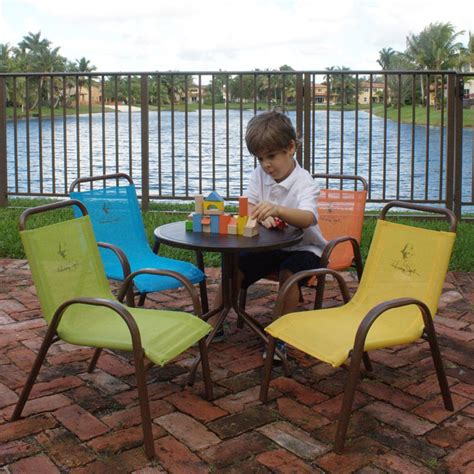 child patio furniture panama patio dining set seats 4 tables