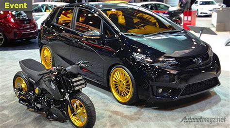 Cross Bar Model Jepit Mobil Honda Jazz 2016 ini dia modifikasi keren honda jazz langsung dari sema