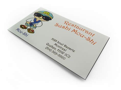 Business Card Magnets montreal business card magnets