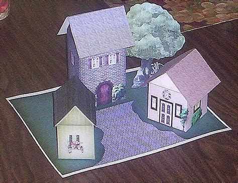 Craft Paper House - paper crafts playsets dwellings furniture ammey s