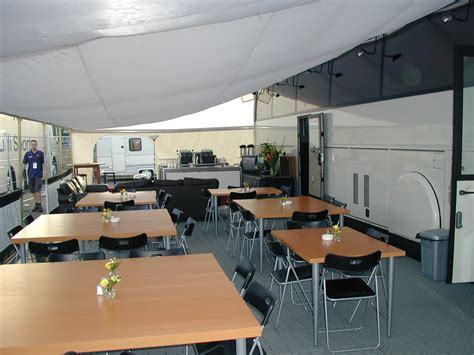 awning table and chairs racecarsdirect com van hool hospitality motorhome ex f1 and wrc left hand