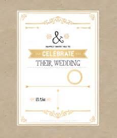 Make Your Own Wedding Invitations Online Diy Gold Black Modern Vintage Rustic Wedding Invitation