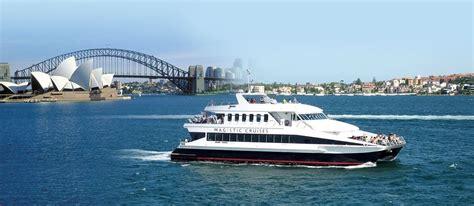 boat tour sydney 1 hour sydney sightseeing cruise on a luxury catamaran