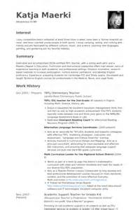 elementary teacher resume samples visualcv resume
