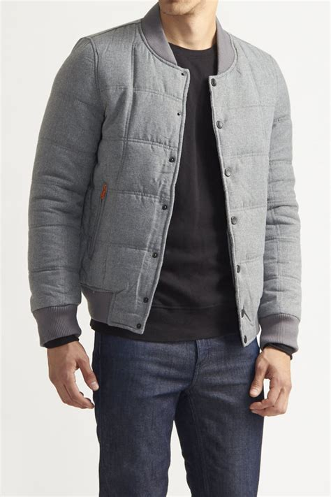 Quilted Bomber by American Stitch Quilted Bomber Jacket Where To Buy How To Wear