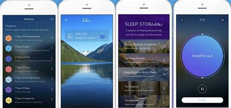 best meditation apps 3 apps to help you find peace in your