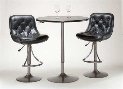 Bar Stool And Table Set Hillsdale Aspen 3 Adjustable Table And Bar Stool Set Oyster Grey 4189ptbga Homelement