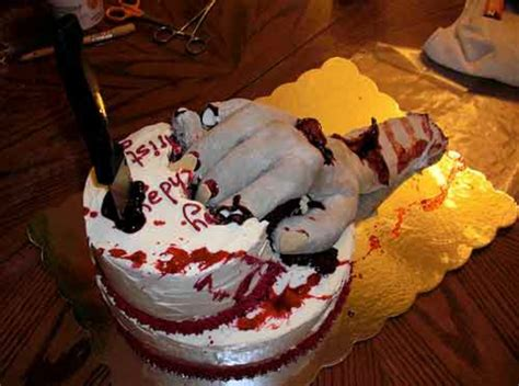 Halloween Kuchen Deko   wahnsinnige Torten Ideen