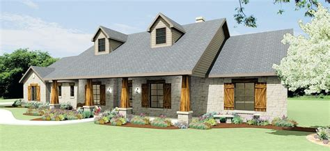 style house plans hill country ranch hill