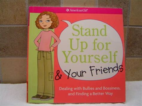 libro stand up for yourself american stand up for yourself and your friends dealing with bullies book just bought