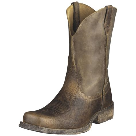 western square toe boots for s ariat 174 11 quot rambler square toe western boots 216118