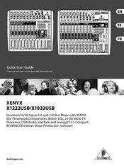 BEHRINGER XENYX X1222USB MANUAL PDF