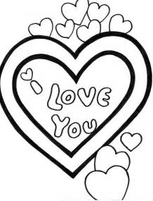 quot i love you quot coloring pages