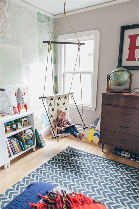 hanging chairs for kids bedrooms 10 charming kids rooms with vintage ideas home design