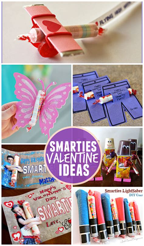 ideas for valentines day gifts ideas for using smarties crafty