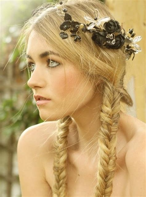 victorian hairstyles braids fishtail pigtails hair nails and makeup galore