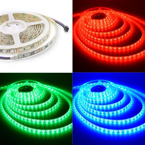 12v led light strips outdoor waterproof lights