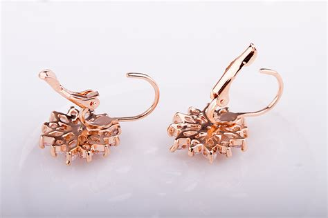 Anting Gold anting wanita zircon gold chagne gold jakartanotebook