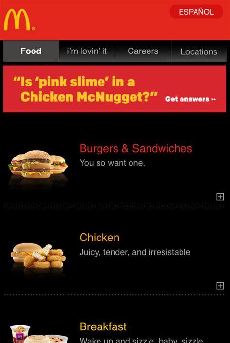 Types Of Kitchen Designs banish the hamburger menu adopt pizza menus