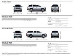Chevrolet Suburban Interior Dimensions Cargo Dimensions 2015 Traverse 2017 2018 Best Cars Reviews