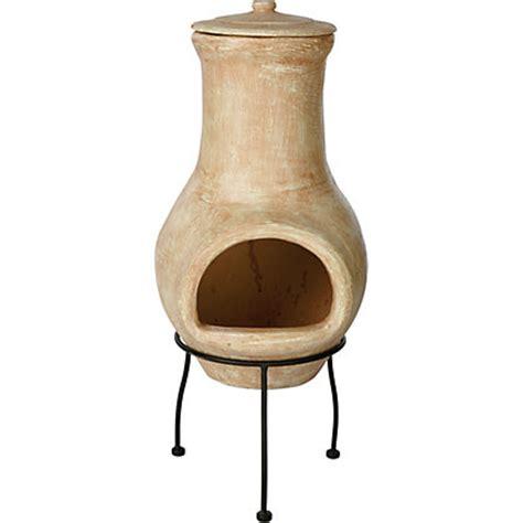 chiminea homebase la hacienda colca clay chimenea