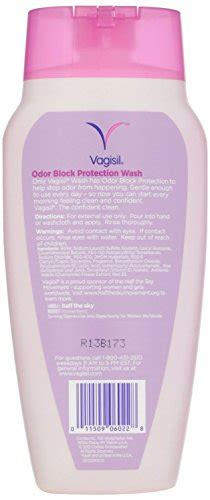vagisil feminine wash with odor block protection light vagisil feminine wash with odor block protection light and clean scent pack of two 12 fl oz