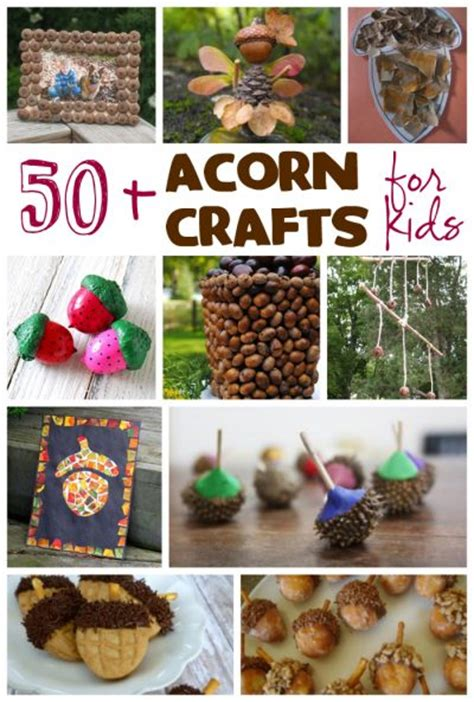 acorn craft projects 50 acorn crafts for family crafts