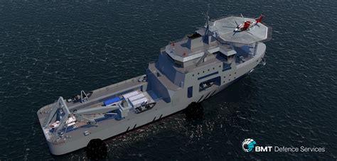 ship designer bmt salvas utility auxiliary ship bmt defence services