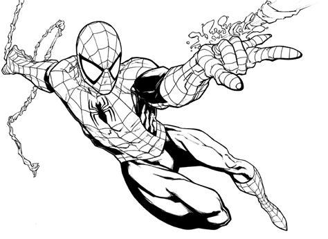 nuevo coloreado de spiderman